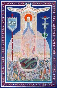 Die Tessera der Legion Mariens
