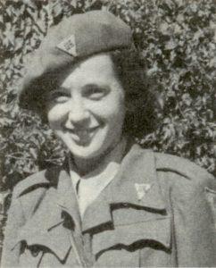 Hilde Firtel bei der US Army