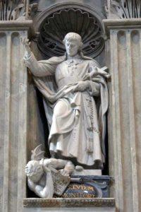 Statue des hl. Ludwig Maria im Petersdom