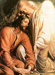 Jesus mit dem Ölbergsengel