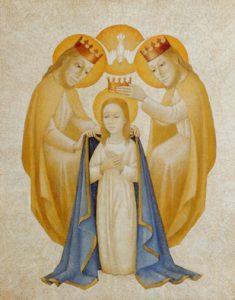 Maria wird im Himmel gekrönt